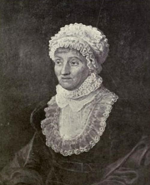 קרוליין הרשל. נחשבת לאחת מהמדעניות הראשונות שזכו להכרהצילום התמונה מתוך Wikipedia