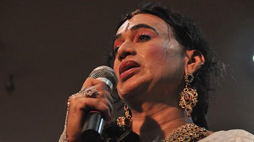 היג'רה שרה בתחרות. צילום: יותם יעקבסון