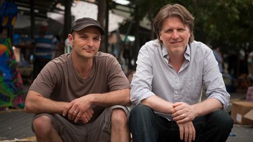 כריסטופר רובינס וג'ון יואינג. צילום: בן קלמר