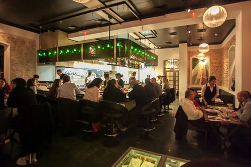 """""""הדעה שלי על אוכל ועל הגשתו השתנתה"""". מסעדת פופינה (צילום: חיים יוסף)"""
