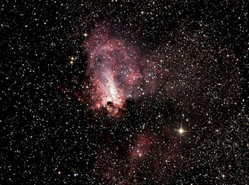 ערפילית הברבור – אזור של גז ואבק בקבוצת הכוכבים קשתצילום: מיכאל צוקראן