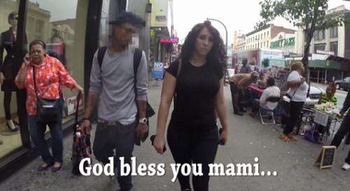 """הטרדה או מחמאה? מתוך """"10 Hours of Walking in NYC as a Woman"""""""