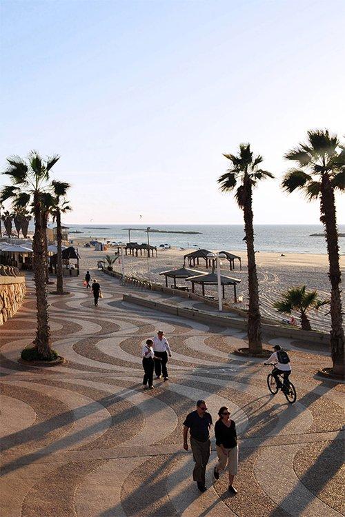 טיילת תל אביב. צילום: Shutterstock
