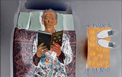 אינברט של בן הגרי. מתוך אתר האינטרנט של האמן