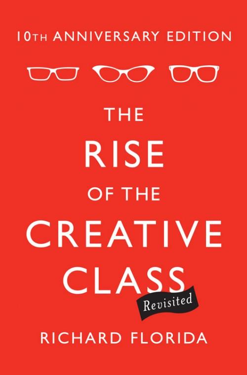 """כריכת הספר """"עלייתו של המעמד היצירתי"""""""
