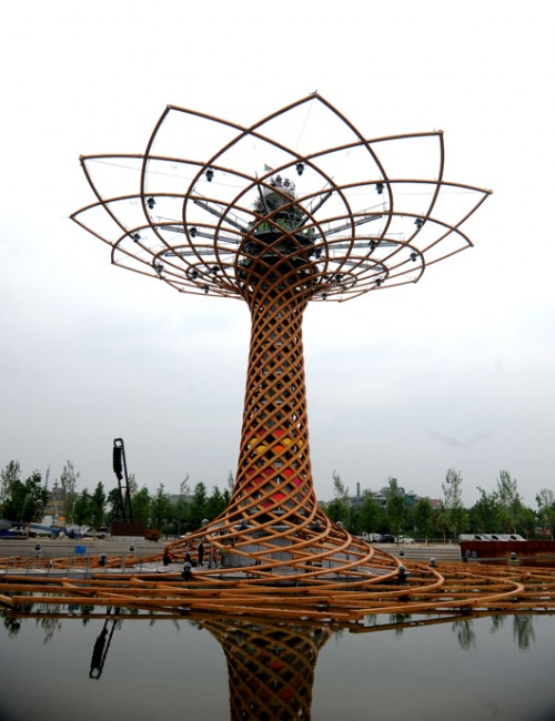 יער אורבני. איטליה, המארחת של תערוכת Expo (צילום: Daniele Mascolo)