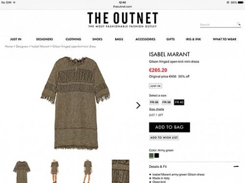 מתוך Outnet (צילום מסך)