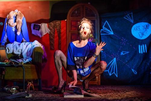 ולנטינה טאנץ על הבמה. צילום: קלאודינה שוברט