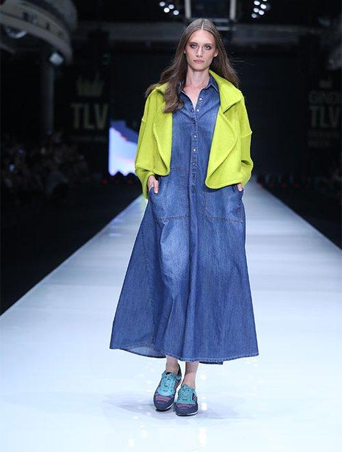 פייר, התאכזבנו. אלמביקה תצוגת בשבוע האופנה בתל אביב. צילום: אבי ולדמן