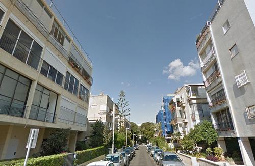 נמר הכסף. רחוב שמריהו לוין. צילום: גוגל סטריט וויו