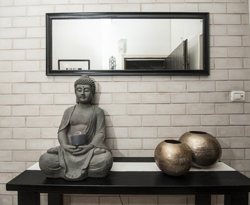 הדירה של הדר גלר. צילום: איליה מלניקוב