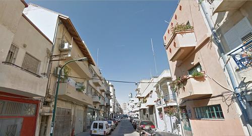 רחוב זבולון בשכונת פלורנטין. צילום: Google StreetView