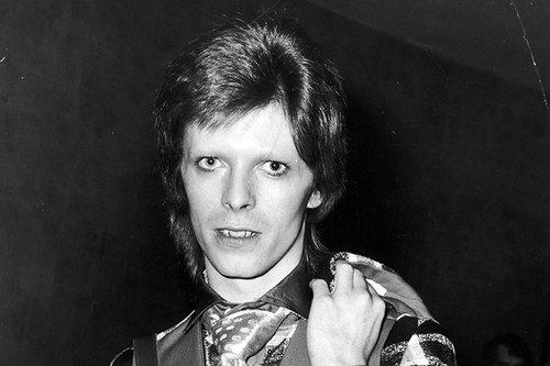 דיוויד בואי בלונדון, מאי 1973 (צילום:GettyImages)