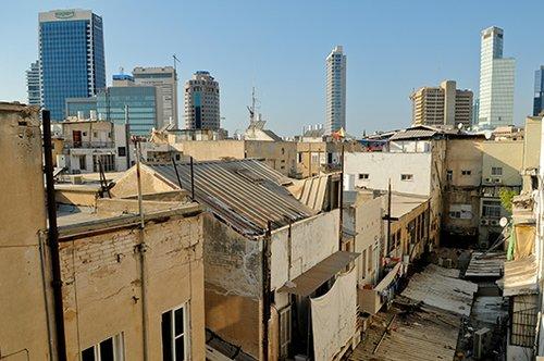 יותר מידי בניינים, מעט מידי דשא. פלורנטין (תמונה: shutterstock)
