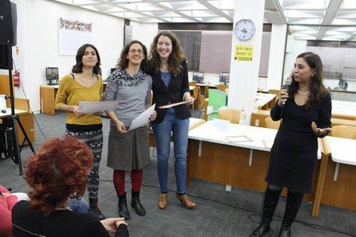 מחלקת היודעות - מאיה רומן, ליאור אלפנט ותמי דינס