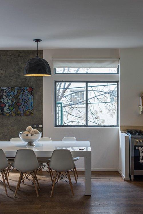הדירה של טלי ניז'ינסקי שגב. צילום: נמרוד סונדרס