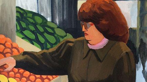 """עבודתה של אנה לוקשבסקי. """"רוצות להחזיר לציור את הדבר האמיתי"""""""