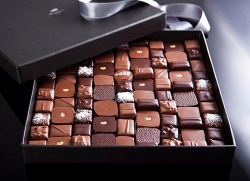 קופסאת פרלינים, איקה שוקולד. צילום: שירן כרמל