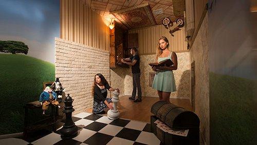 חדר הבריחה קווסטמניה (צילום: מישה קמינסקי)