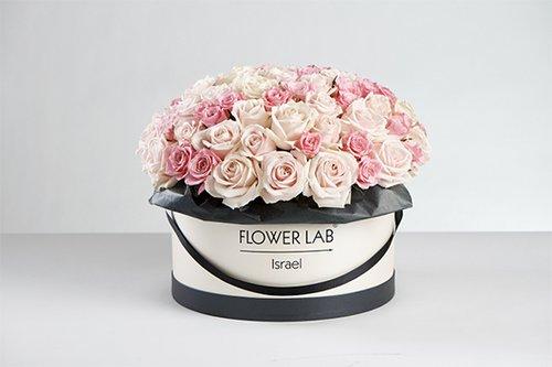 """סידור פרחים של פלאוור לאב, 670 ש""""ח"""