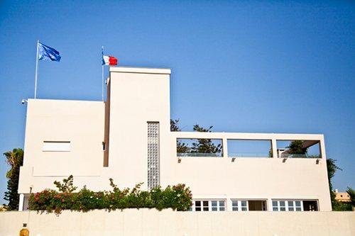 בית השגריר הצרפתי. צילום: בנג'מין הוגט