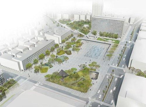 כיכר רבין לפי חיוטין אדריכלים