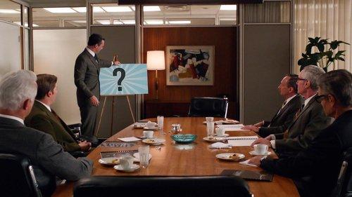 וויסקי – אאוט, קקטוס למוח – אין (צילום: מתוך ״מד מן״, באדיבות AMC)
