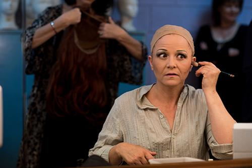 הדמות נשארת הרבה אחרי שההצגה נגמרת. שרה פון שוורצה (צילום: בן קלמר)