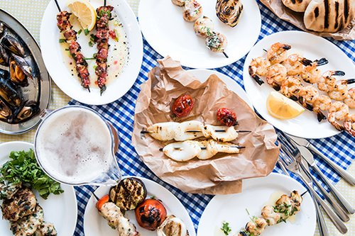 מסיבת גריל במסעדת השקד (צילום: יאנה טובין)