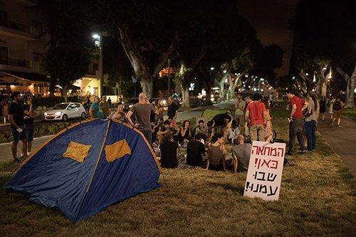 המחנה החדש ברוטשילד (צילום: בן קלמר)