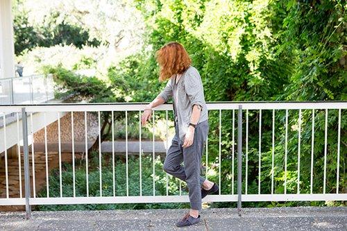 רוצה להיות בבית. אילנה ברנשטיין (צילום: אורית פניני)