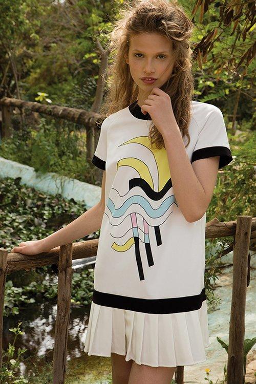 שמלה של אלון ליבנה ולילמיסט. צילום: יניב אדרי