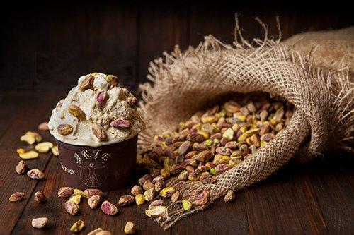 גלידת פיסטוק בארטה (צילום: דניאלה קנטיני)