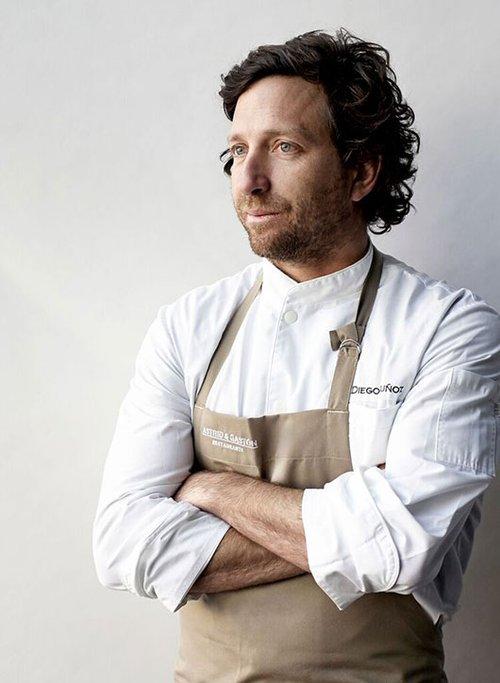השף Diego Munos הפרואני יתארח ביפו תל אביב. צילום: Maria Nguyen