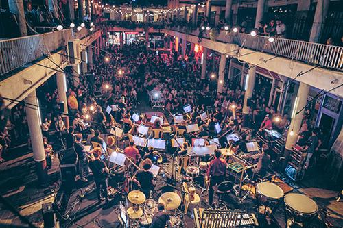 תזמורת ארמון בתדר. צילום: אריאל עפרון