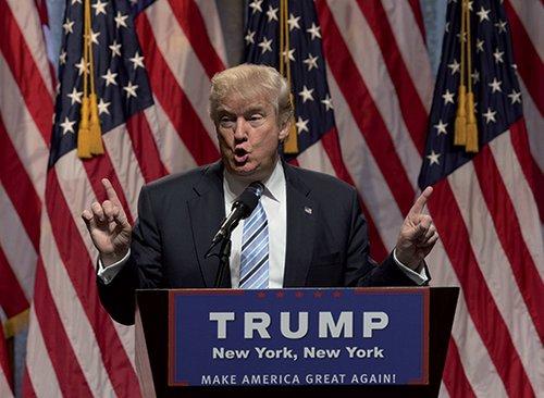 """""""פחות מאיים ממה שחששתי"""". דונאלד טראמפ (צילום: GettyImages)"""