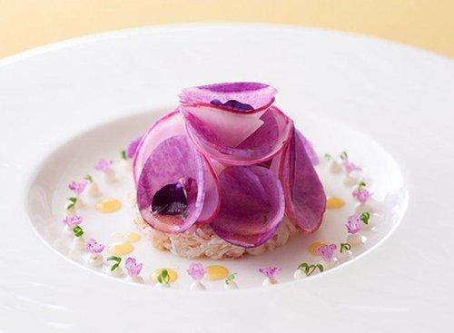 """יפה ככלה, מנה של השף פרדריק סימונין. צילום: יח""""צ"""