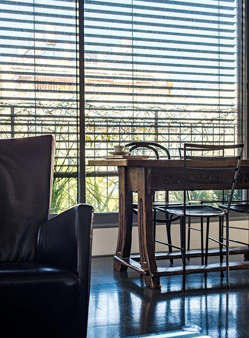 הדירה של גל פלורסהיים ודורון גלבוע. צילום: נמרוד סונדרס