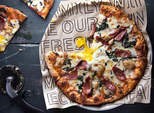 הפיצה של נונו. צילום: דניאל לילה