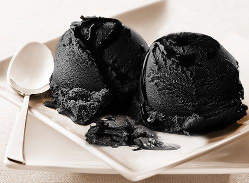 גלידת קוקוס ופחם קוקוס, אייסברג. צילום: אייסברג