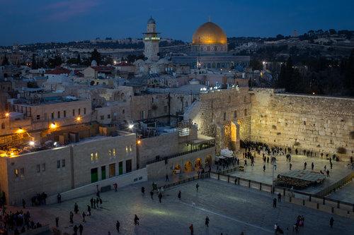 ירושלים לקראת ערב. צילום: גטי אימג'ס
