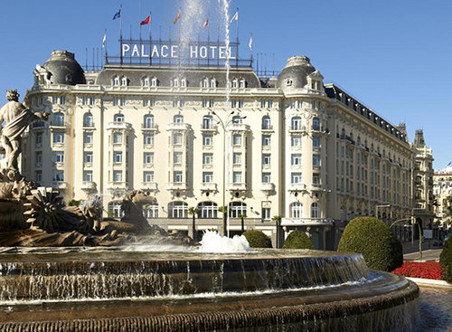 מלון הווסטין פאלאס במדריד. צילום: אתר בוקינג