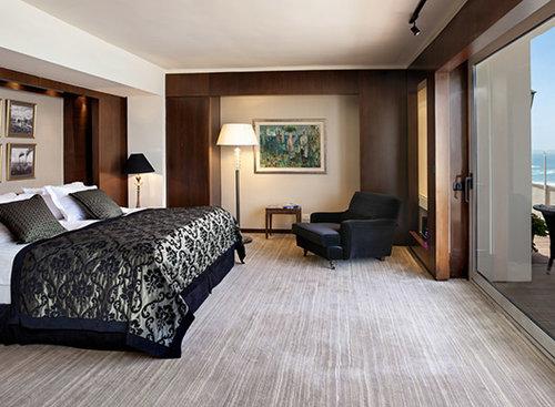 מלון דן תל אביב, הסוויטה המלכותית. צילום: אורי אקרמן