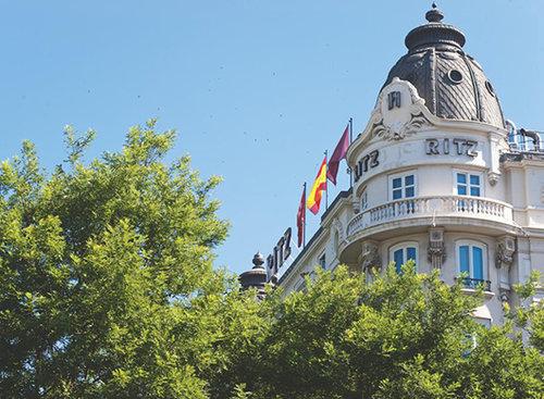 מלון ריץ במדריד. צילום: אתר בוקינג