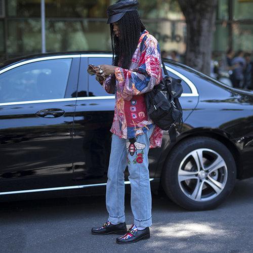 שבוע האופנה לגברים במילאנו. צילום: thestreetvibe.co