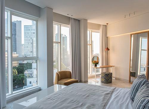 מלון רוטשילד 65. צילום: סיוון אסקיו