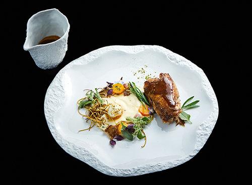 טעמים יווניים: המנה הזוכה של קונסטדינה וולגרי. צילום אמיר מנחם
