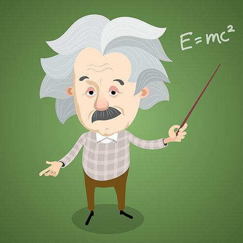 השלמת הכנסה מעניינת, אלברט איינשטיין. אילוסטרציה: שאטרסטוק
