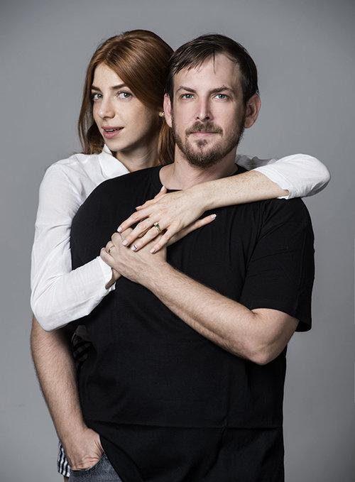 אטמים כסגולה לזוגיות. אסף זמיר ומאיה ורטהיימר (צילום: איליה מלניקוב)