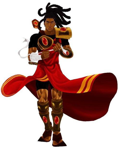 המסע של הגיבור הוא רוחני, ובמהלכו הוא מתחבר לכוח הנסתר של השבט שלו